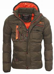 geographical herren winterjacke warm gef 252 ttert