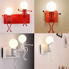 modern design children bedroom wall l unique appearance led light bedside desk reading
