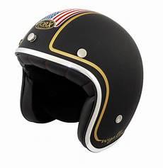 Casque Jet Moto Custom Drapeau Americain Look Biker Pas