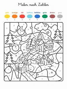 malvorlagen vorschule vorlage ausmalbild malen nach zahlen winterzauber ausmalen