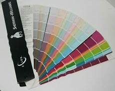 sherwin williams 2011 color paint chips fan deck swatch book craft home decor ebay