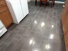 Plank Tile Floor Diy