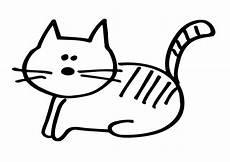 Malvorlage Katze Einfach Ausmalbild Katze Einfach Kostenlos Zum Ausdrucken