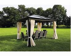 pavillon sinaia 3 65x3x2 7 m polycarbonat braun bei
