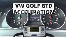 golf gtd 0 100 volkswagen golf gtd 2 0 tdi cr 184 hp acceleration 0 100