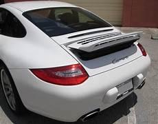 porsche spoilers 2005 2012 porsche 911 997 style rear wing spoiler