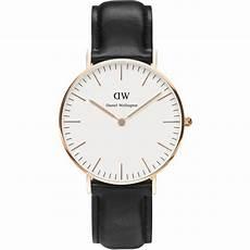 montre daniel wellington noir montre daniel wellington dw00100036 montre cuir