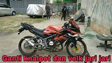 Rr Jari Jari by Kawasaki Rr 150 Modif Ringan Ganti Knalpot