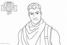 fortnite coloring pages characters smile free