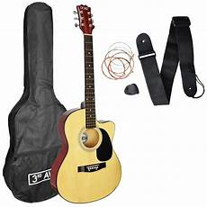 3rd Avenue Cutaway Acoustic Guitar Pack