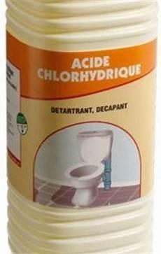 acide chlorhydrique toilette d 233 tartrer ses wc avec de l acide chlorhydrique