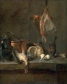 The Kitchen Jean Baptiste Simeon Chardin by The Oyster Chardin S