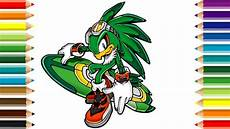 Sonic The Hedgehog Jet Coloring Pages Jet The Hawk Coloring Page And Drawing Sonic The Hedgehog