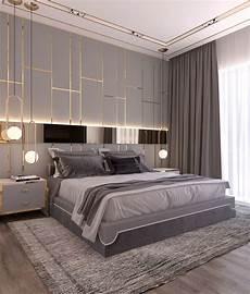 Modern Style Bedroom Dubai Project On Behance Simple