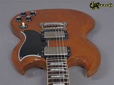 2001 Gibson Custom Shop Sg 61 Reissue Faded Cherry