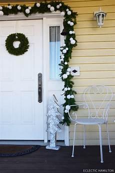 Weihnachtsdeko Vor Haustür - haust 252 rdeko weihnachten auf meiner veranda eclectic