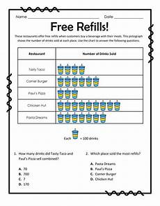 free download reading pictographs free refills 10 questions you can even have students