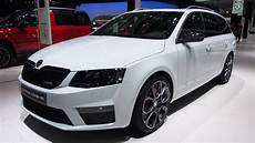 2014 skoda octavia combi rs 2 0 tsi exterior and interior