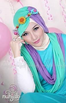 Model Jilbab Modern Untuk Lebaran