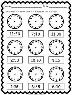 time to the hour worksheets for 2nd grade 3639 telling time pack worksheets task cards school worksheets math worksheets teaching