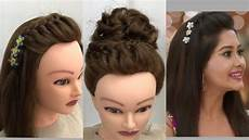 3 beautiful hairstyles for function easy wedding hairstyles youtube
