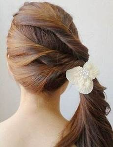creative ideas diy easy twisted side ponytail hairstyle