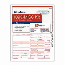 adams 2016 1099 misc tax forms software kit walmart com