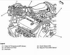 Knock Sensor Location Engine Mechanical Problem 6 Cyl