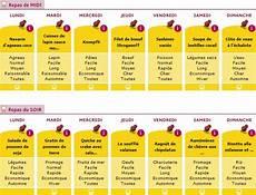 régime pas cher planning repas r 233 gime coach nutrition et sportif