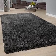 teppich anthrazit hochflor teppich shaggy grau anthrazit teppichcenter24