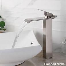 Bathroom Sink Faucets Overstock by Brushed Nickel Bathroom Faucet Elite 8818 Single Lever