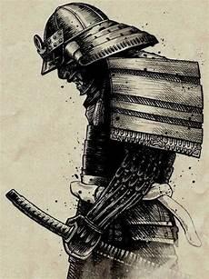 japanische krieger schwarz wei 223 e zeichnung