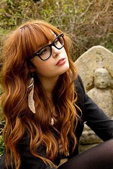 15 best ideas of long hairstyles for girls with glasses