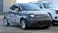 2020 fiat 500e new fiat 500e spied ahead of expected 2020 return to the u s