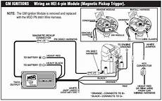 Sbc Msd 6al Hei Wiring Diagram by Mallory Hyfire 6al No Start Except In The Key On Position