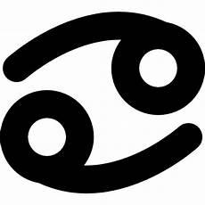 Sternzeichen Krebs Symbol Der Kostenlosen Icons