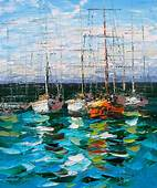 17 Best Images About ART Water & Boats On Pinterest