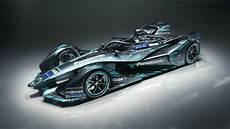Wallpaper Jaguar I Type Formula E Racing Car Electric