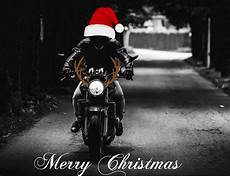 merry christmas motorcycle photograph by dean