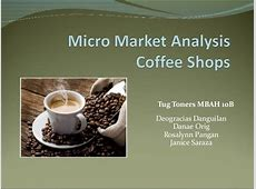 coffee shop analysis research