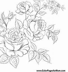 flor para colorear p 225 gina 61 dibujos en tela libros para colorear y dibujo floral