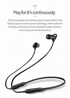 Bakeey Mini Bluetooth Wireless Bass Neckband by Bakeey S6 Wireless Bluetooth 5 0 Earphone Hifi Bass Stereo