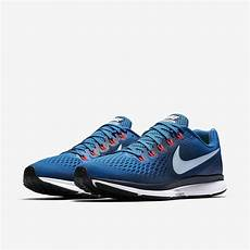 nike mens air zoom pegasus 34 running shoes blue