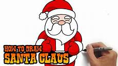 how to draw santa claus simple and easy lesson
