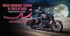 harley davidson central harley davidson central se pinta de rosa ciudad biker