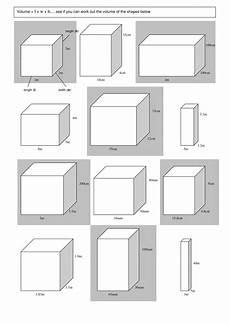 volume worksheet by winterpants teaching resources tes