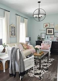 Interior Diy Home Decor Ideas Living Room by 2016 Home Tour Nature Inspired Vintage Farmhouse