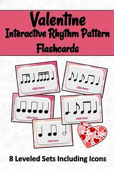 rhythmic pattern worksheet for grade 5 518 s day interactive rhythm flashcards centers activities education