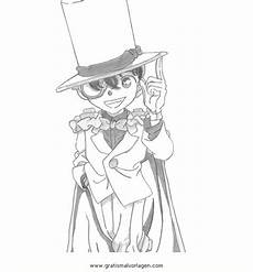 kaito kid 7 gratis malvorlage in comic trickfilmfiguren