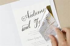 how to diy foil wedding invitations weddings foil